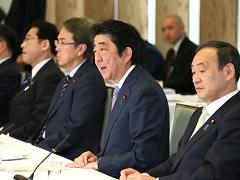 政府与党連絡会議-平成29年4月3日