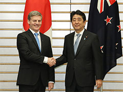 日・ニュージーランド首脳会談等-平成29年5月17日