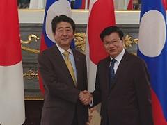 日・ラオス首脳会談等-平成29年6月7日