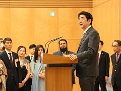 在京イスラム諸国外交団とのイフタール-平成29年6月9日