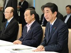 福岡県・大分県等の大雨に関する関係閣僚会議-平成29年7月11日