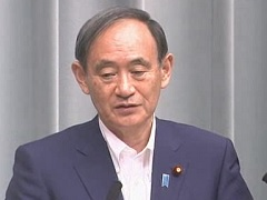 平成29年7月24日(月)午前-内閣官房長官記者会見