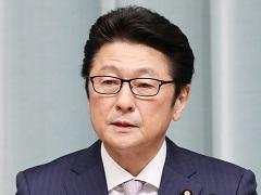第3次安倍第3次改造内閣閣僚記者会見「松山政司大臣」