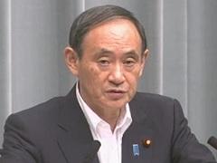 平成29年9月6日(水)午前-内閣官房長官記者会見