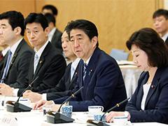 都道府県議会議長との懇談会-平成29年9月11日