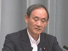 平成29年9月19日(火)午後-内閣官房長官記者会見