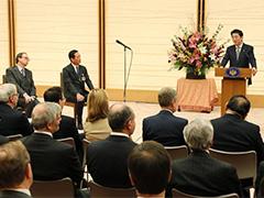日仏クラブによる表敬-平成29年12月1日