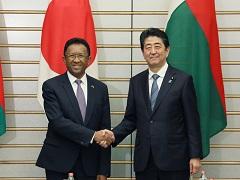 日・マダガスカル首脳会談等-平成29年12月5日