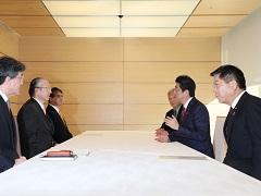 日本労働組合総連合会との面談-平成29年12月7日
