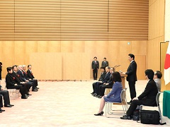 女性が輝く先進企業表彰式-平成29年12月13日