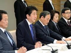 政府与党政策懇談会-平成29年12月19日