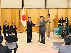 ジャパンSDGsアワード表彰式-平成29年12月26日