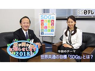 霞が関からお知らせします2018~世界共通の目標「SDGs」とは?