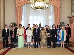 総理主催女性駐日大使昼食会-平成30年1月9日