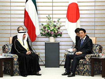 ガーニム・クウェート国民議会議長による表敬-平成30年3月13日
