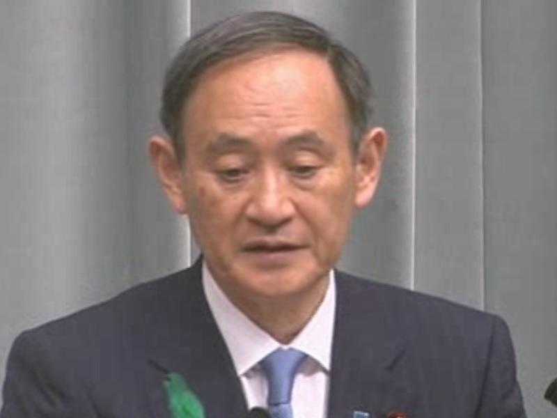 平成30年4月16日(月)午前-内閣官房長官記者会見