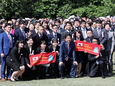 総理主催「桜を見る会」の開催-平成30年4月21日