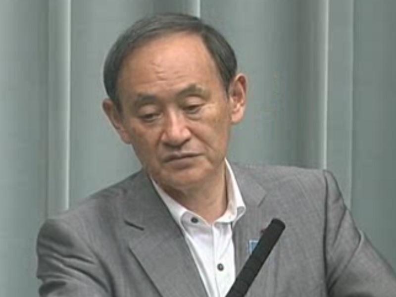 平成30年6月11日(月)午後-内閣官房長官記者会見