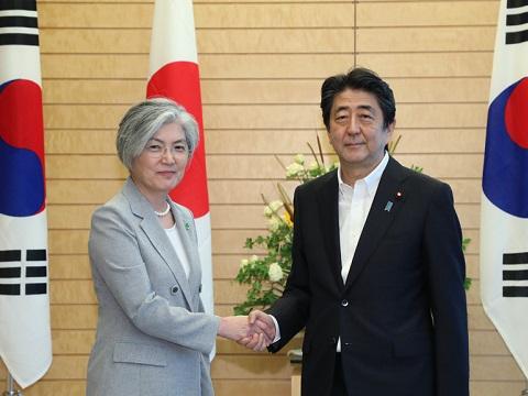 康京和韓国外交部長官による表敬-平成30年7月8日