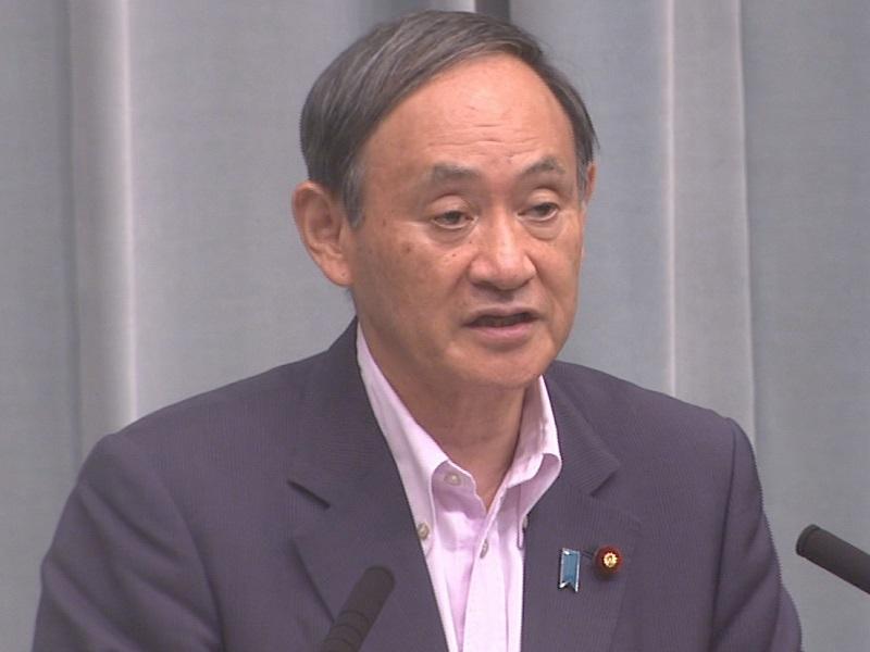 平成30年9月9日(日)午後-内閣官房長官記者会見