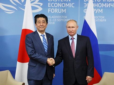 東方経済フォーラム出席等 -1日目--平成30年9月10日