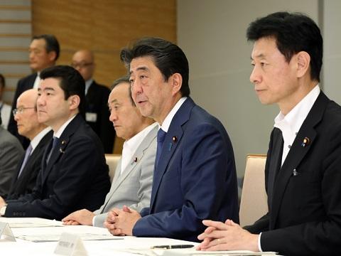 平成30年北海道胆振東部地震に関する関係閣僚会議-平成30年9月13日