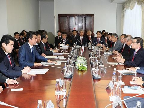 東方経済フォーラム出席等 -4日目--平成30年9月13日