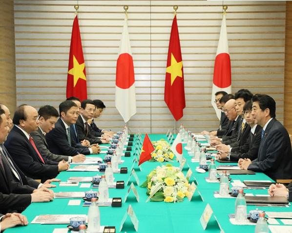 日・ベトナム首脳会談等-平成30年10月8日