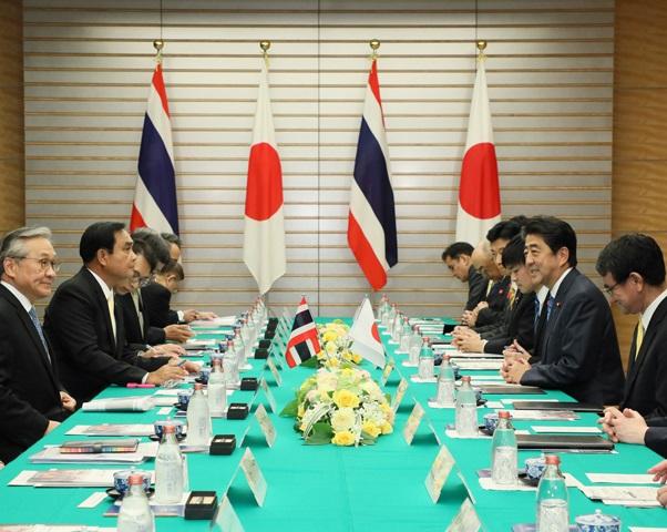 日・タイ首脳会談等-平成30年10月8日