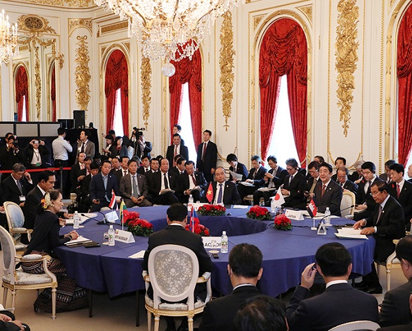 日・メコン地域諸国首脳会議出席等-平成30年10月9日