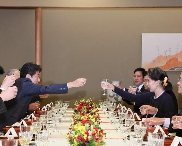 アウン・サン・スー・チー・ミャンマー国家最高顧問との会談等-平成30年10月9日