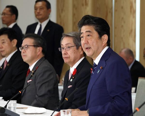 政府与党連絡会議-平成30年10月10日
