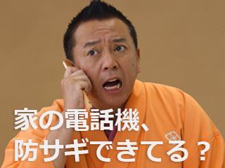 高齢者の消費者被害防止「固定電話対策」篇