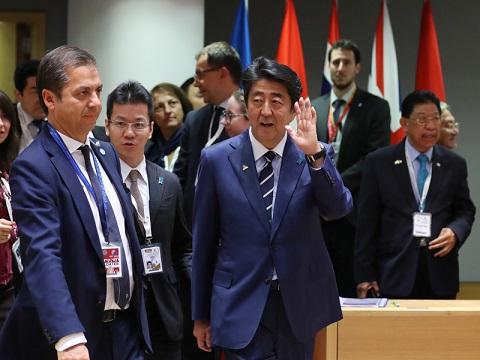 欧州訪問 -3日目-及びASEM首脳会合 -1日目--平成30年10月18日