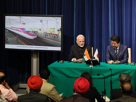 日・インド首脳会談等-平成30年10月29日