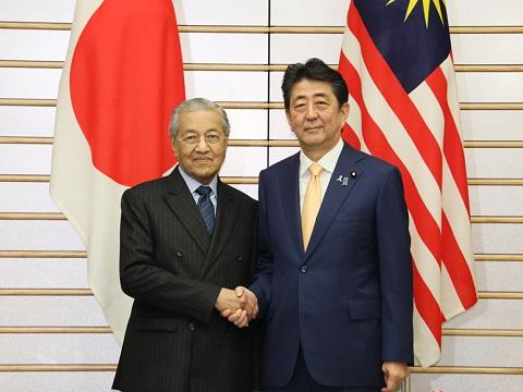 日・マレーシア首脳会談等-平成30年11月6日