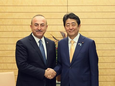 チャヴシュオール・トルコ外務大臣による表敬-平成30年11月6日