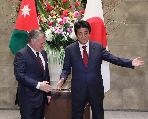 日・ヨルダン首脳会談等-平成30年11月27日