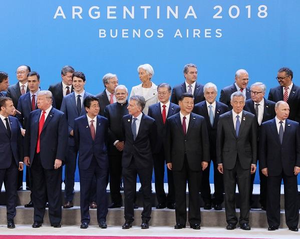 G20ブエノスアイレス・サミット出席等 -1日目 --平成30年11月30日