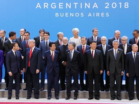 G20ブエノスアイレス・サミット出席等 -2日目 --平成30年12月1日