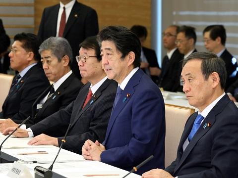 国土強靱化推進本部及び重要インフラの緊急点検に関する関係閣僚会議-平成30年12月14日