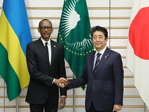 日・ルワンダ首脳会談等-平成31年1月8日