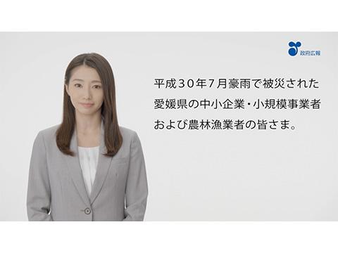 平成30年7月豪雨復興「被災地向け(愛媛)」事業主関連篇
