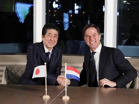 オランダ訪問-平成31年1月9日
