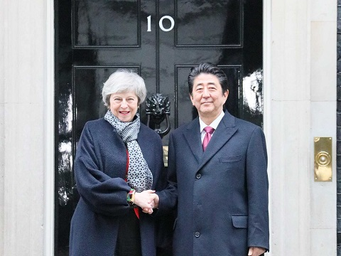 英国訪問-平成31年1月10日