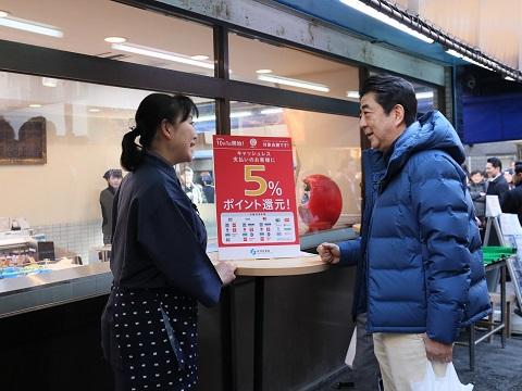 戸越銀座商店街視察-平成31年2月2日