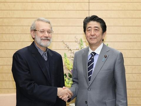ラリジャニ ・イラン国会議長等による表敬-平成31年2月13日
