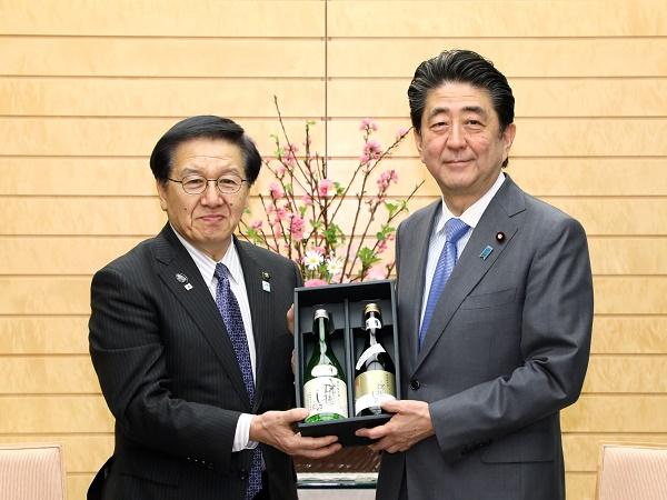 北海道江別市及び恵庭市の農産品の贈呈-平成31年2月26日