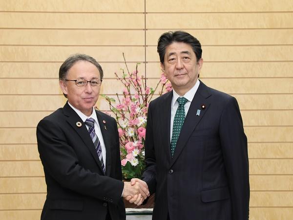 沖縄県知事との面会-平成31年3月1日