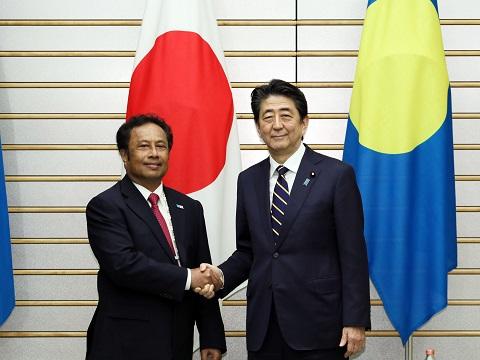 日・パラオ首脳会談等-平成31年3月8日